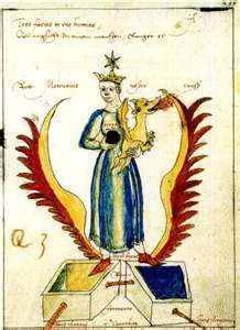 illustrations from the aurora consurgens manuscript, alchemy
