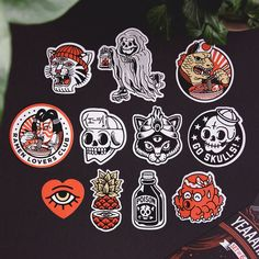 ステッカーデザイン Diy Home and Decorations diy home decoration ideas Tattoo Old School, Desenhos Old School, Japon Illustration, Oldschool, Flash Art, Cool Stickers, Pin And Patches, Sticker Design, Sticker Logo