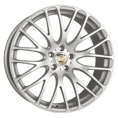 19 CALIBRE ALTUS SILVER MATTE POLISHED FACE alloy wheels for 5 studs wheel fitment in 8x19 rim size