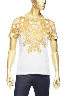 Versace - T-shirt imprimé Medusa Barocco