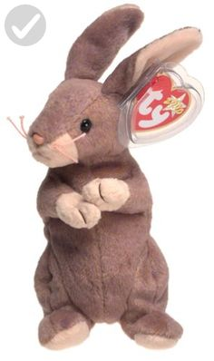 """Ty Beanie Babies Springy the Bunny Rabbit: Ty Beanie Baby Rabbit Springy poem: """"Hopping and jumping all around I never stay long on the ground I might be gone for just a while But I'll be back and make you smile! Beanie Baby Bears, Ty Beanie Boos, Ty Stuffed Animals, Plush Animals, Toys For Little Kids, Ty Babies, Ty Toys, Baby Doll Nursery, Cute Beanies"""