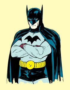Golden Age Batman (from Detective Comics #27) by Kristafer Anka