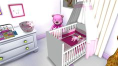 Sims 4 CC's - The Best: Baby Bedroom by Lena Sims