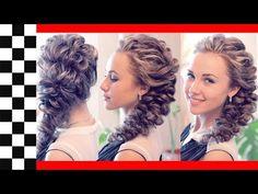 Причёска на резинках | Авторские причёски | Лена Роговая | Hairstyles by REM | Copyright © - YouTube