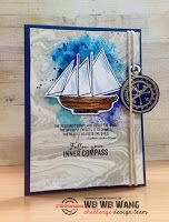 #truenorth #Stamplorations STAMPlorations™ Blog: {Special Stamp Release!} TRUE NORTH by Shery Russ Designs + Mini Release Hop -- Comment to Win! inspiring card!