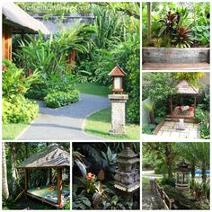 Inspiration for my Balinese courtyard :-)