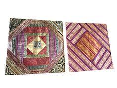 Indian Throw Cushion Cover Vintage Silk Sari Border Patch... https://www.amazon.com/dp/B074W52HKV/ref=cm_sw_r_pi_dp_x_hZDXzb64ZZR5Z