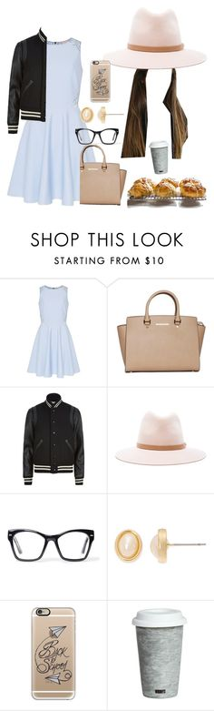 """""""Class reunion"""" by audreysnider ❤ liked on Polyvore featuring beauty, Ted Baker, MICHAEL Michael Kors, Yves Saint Laurent, rag & bone, Spitfire, Vieste Rosa, Casetify and Fitz and Floyd"""