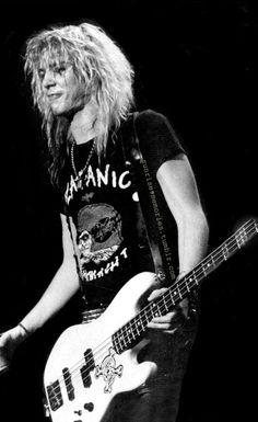 Duff McKagan at The Felt Forum, NY, 1988