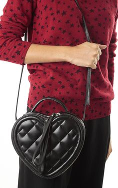 """Marc by Marc Jacobs """"Heart to Heart"""" quilted bag -  available here -> http://www.bagheeraboutique.com/en-US/designer/marc_by_marc_jacobs"""