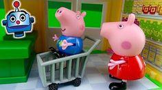 Camión del Supermercado de Peppa Pig - YouTube