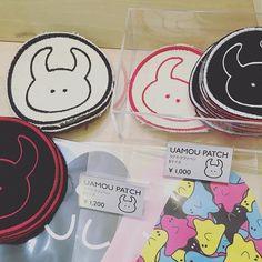 UAMOU PATCH COLLECTION ! Cavalieri(カヴァリエリ)制作によるウアモウの刺繍ワッペン第二弾! STUDIO UAMOUにて発売スタート! *こちらのアイテムは店舗のみの販売です  #uamou#patch#ワッペン