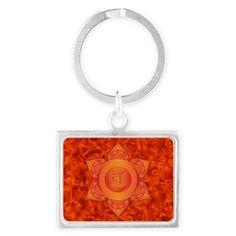 Sacral Chakra key chain