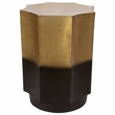 Markus Side Table, Gold