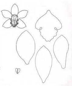 выкройка орхидеи: 10 тыс изображений найдено в Яндекс.Картинках