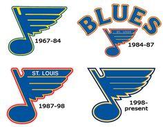 St. Louis Blues hockey logos (1967-present)