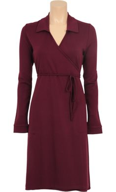 King Louie - Collar wrap dress Milano uni