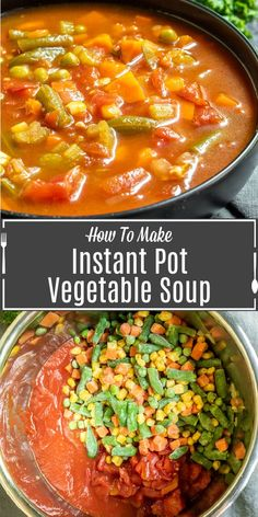 Instant Pot Vegetable Soup Recipe | Home. Made. Interest.