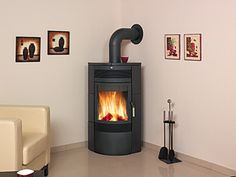 Rohová krbová kamna HARK 65 N GT v novém designu Stove, Praha, Home Appliances, Wood, Search, Google, Design, House Appliances, Range