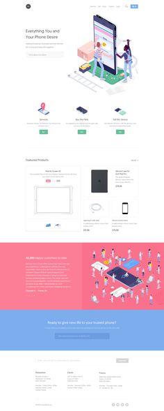 Screenworks Landing Page - Full Web Design Design Sites, Flat Web Design, Web Design Studio, Modern Web Design, Web Ui Design, Dashboard Design, Mobile Web Design, Design Design, Graphic Design