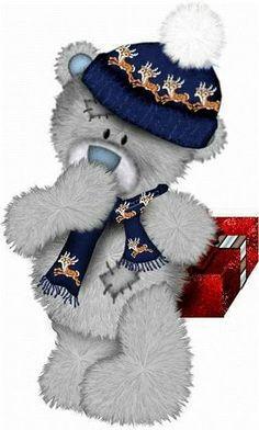 Berry Christmas ~ looks like Tatty Teddy :) Christmas Clipart, Christmas Pictures, Christmas Art, Christmas Patterns, Christmas Items, Tatty Teddy, Illustration Noel, Christmas Illustration, Illustrations