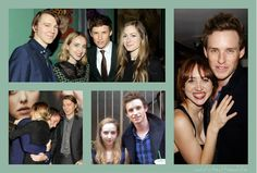 New Yorker friends Zoe Kazan and Paul Dano  Zoe read Marilyn's part on Eddie's audition tape, when he applied for the role of Colin Clark in My Week With Marilyn. (x)  #30daysidolchallenge D26 idol with friends #eddieredmayne - LIST