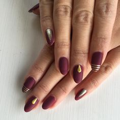 Gorgeous matte nails with a little twinkle nail design! Stunning!