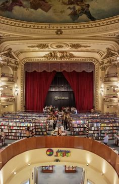 #buenosaires #argentina #ateneo #libros #librerie Travel Blog, Passion, World, Inspiration, Buenos Aires, Argentina, Libros, Biblical Inspiration, The World