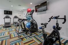 Get your sweat on in our state-of-the-art center.
