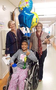 CTMC medical mission team brings Honduran woman to Texas for cancer treatment. See how she is recovering.