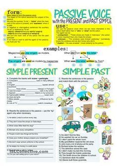 Passive voice negative sentences exercises