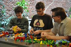 Legos at Geoloqi HQ by aaronparecki, via Flickr