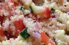 Quinoa Tomato Cucumer Salad Ashley Lojko