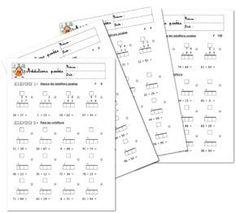 200 fiches additions avec/sans retenue Math 5, Math Fractions, French Kids, Math Addition, Teacher Organization, 2nd Grade Math, Teaching French, Elementary Math, Learn French