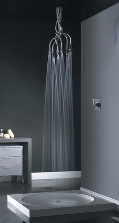 "Image source: Minimalist modern bathroom deesign ~ ""Living well while doing good"
