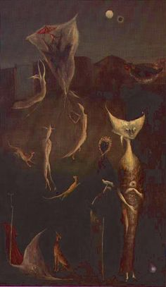 SEMAINE, Leonora Carrington (1917~2011, English-born Mexican artist, surrealist painter, and novelist)