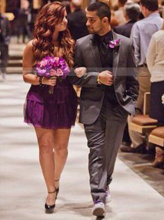 Demi and Wilmer (Demi as bridesmaid for a friends wedding)