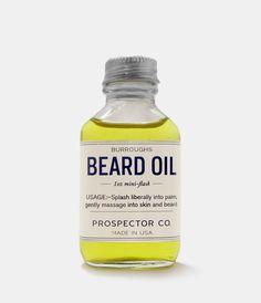 Burroughs Beard Oil    $28.00
