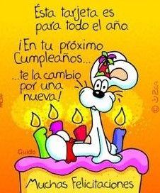 tarjetas de cumpleaños divertidas para whatsapp Spanish Birthday Wishes, Happy Birthday Parties, Happy Birthday Messages, Happy Birthday Quotes, Birthday Greetings, Happy Quotes, Hippie Birthday, Paper Book, Happy B Day