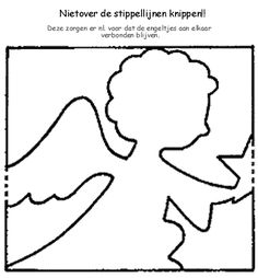 heavenly host of angels coloring pages | 1000+ images about angels black and white on Pinterest ...