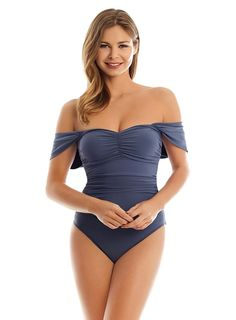926cc4ad1f Magicsuit Solid Natalie | Slimming Swimwear Cute Caps, Cap Sleeves, Bathing  Suits, Swimwear
