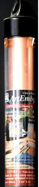Amaco American Art Clay Co. Inc. Art Emboss Medium Wt. Copper Sheets are available at Scrapbookfare.com.