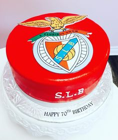 #SLBenfica Custom Cake #DvasCakes #Cambridge #Benfica