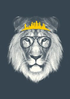 """""""Kingdom Of The Lion"""" Art Print by Joseph Goh on """"Everyone wants to be lion until it comes down to doin some real lion shit. Lion Love, Lion Print, My Drawings, Photo Art, Design Art, Cool Art, Art Photography, Illustration Art, Art Prints"""