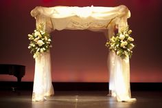Classically romantic Chuppah