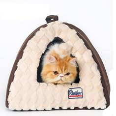 Baby-Story Cute and Fashion Pyramid Cat Bed, Mini Animal Cando, Kitten Play House, Puppy/Dog Tent * You can get additional details at the image link. (This is an affiliate link and I receive a commission for the sales)