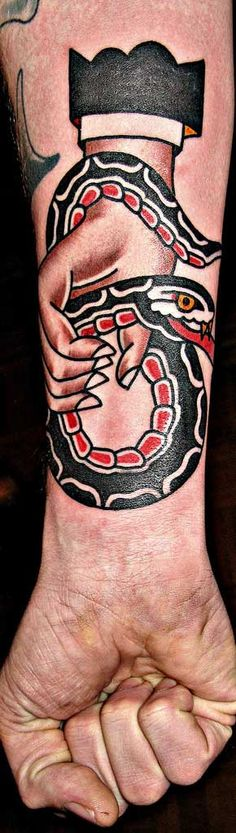 Mark-Cross-tattoo_ snake ...reminds me of Ed Hardy