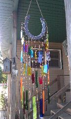 Zenology Design: Stained glass windchime