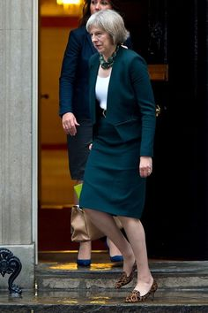 British Prime Minster Theresa May Has a Style Mantra For All Power Women: