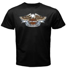 0a2f90a94400 Motorcycle Club T Shirt  Harley Davidson Motor Clothes An American Legend